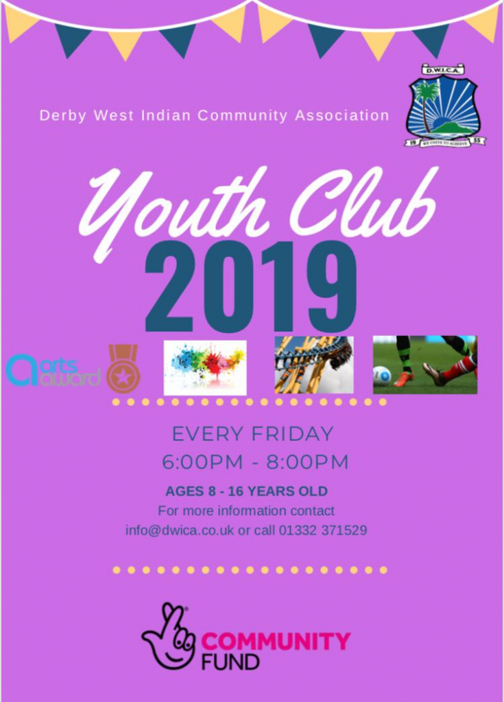 DWICA Youth Club 2019 Poster